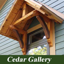 Cedar Brackets and Corbels Gallery and pictures