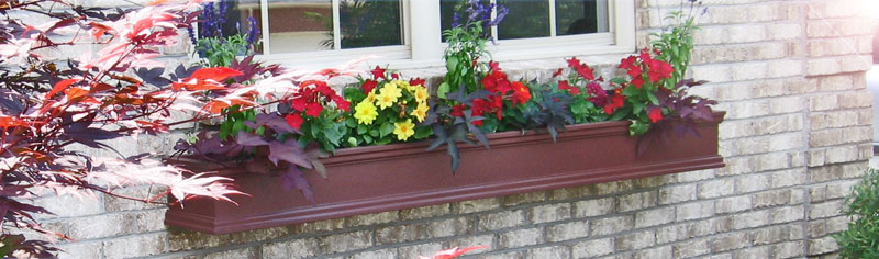 Window boxes - self watering PVC window box