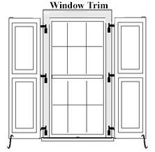 Faux Board and Z-Batten PVC Exterior Shutter (Angle Batten)