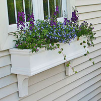 Charleston PVC Window Boxes