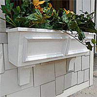 Tapered Panel Window Boxes