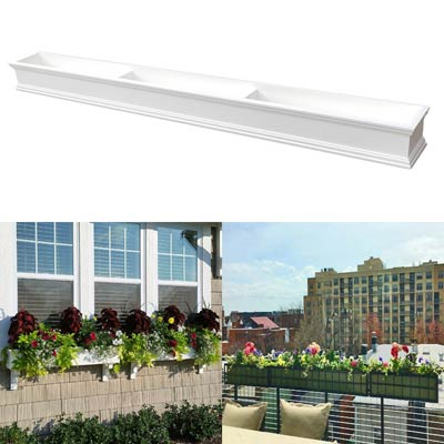 "108"" Window Boxes - 9 Foot Window Box"