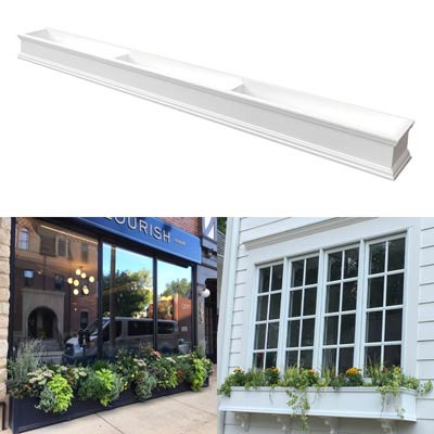 "120"" Window Boxes - 10 Foot Window Box"