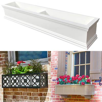 "48"" Window Boxes - 4 Foot Window Box"