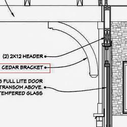 Custom Wood Bracket Blueprints and Plans