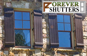 Forever Exterior Shutters Composite PVC