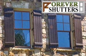 Forever Shutters Composite PVC Exterior Shutters