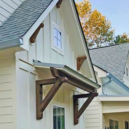 Craftsman Brackets for Portico and Eves