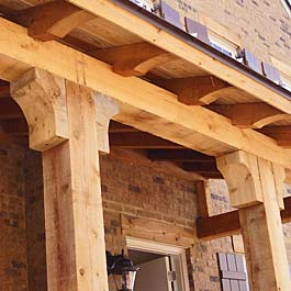 Cedar Bracket Corbel And Gable Ideas Adding Cedar For