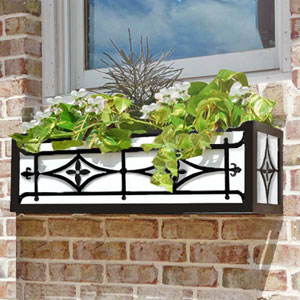 Historical Metal Window Box Cages