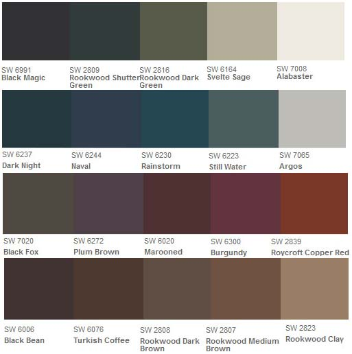 Shutter Paint Color Options