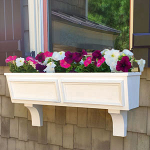 Tapered Window Boxes