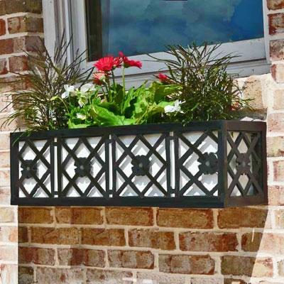 24 Nottingham Window Box Metal Flower Bo 2 Feet