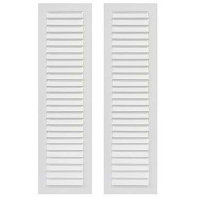 Single Panel Louver Exterior Shutters Made Of Composite Pvc Forever Shutters
